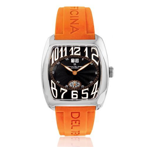 Relógio Officina Del Tempo Marrakech com Calendário e Ponteiro de Segundos Independente