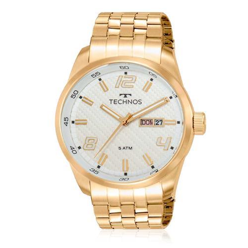 Relógio Masculino Technos Classic Golf 2305AE/4B Dourado