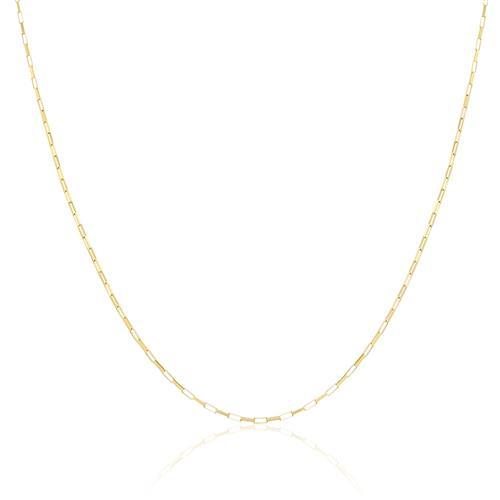 Corrente Elos Cartier com 1,4 grama em Ouro Amarelo