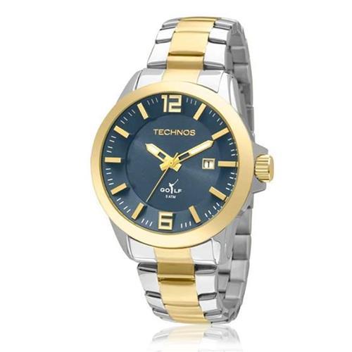 Relógio Masculino Technos Classic Golf 2115KRN/5A Aço Misto