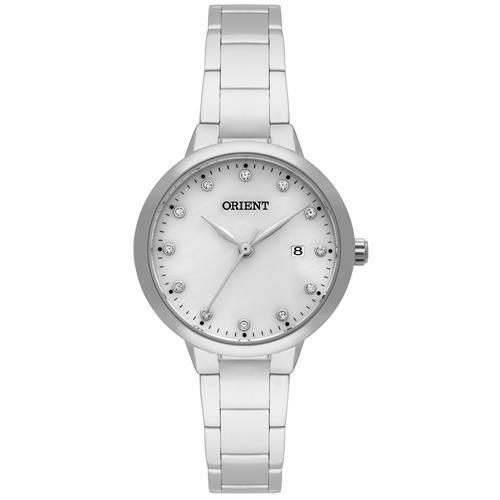 Relógio Feminino Orient Swarovski FBSS1118 B1SX Aço