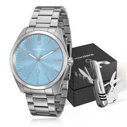Relógio Masculino mondaine analógico 94969G0MVNA1K1 Aço