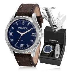Relógio Masculino Mondaine Analógico 83352G0MVNH1K1 Couro