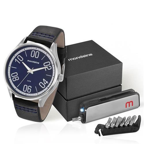 Relógio Masculino Mondaine Analógico 76621G0MVNH1K2 Aço