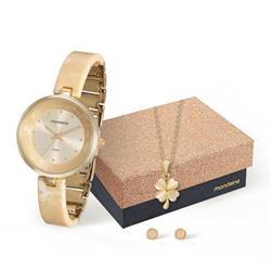 Relógio Feminino Mondaine Analógico 76611LPMKDF1K2 Dourado