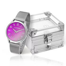 Relógio Feminino Mondaine Analógico 53547L0MKNE1K1 Aço