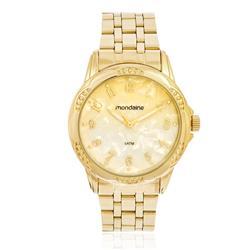 Relógio Feminino Mondaine Analógico 99220LPMVDE1K5 Dourado