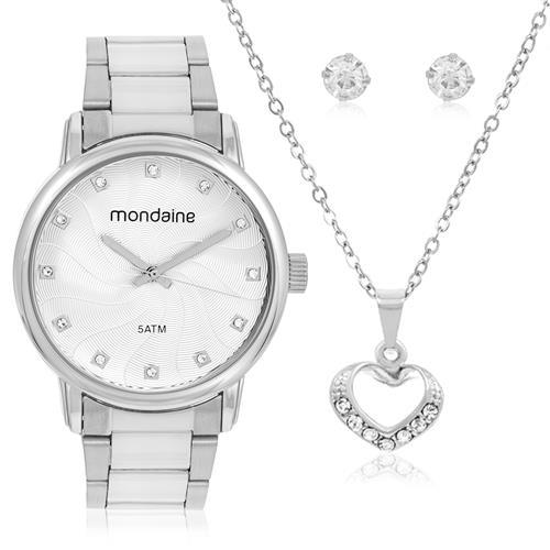 Relógio Feminino Mondaine Analógico 53533LPMVDE3K5 Dourado