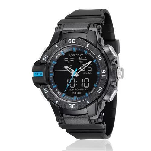 Relógio Masculino Speedo Esportivo digital 81167G0EVNP2 Borracha
