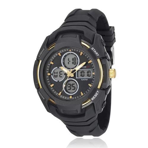 Relógio Masculino Speedo Esportivo digital 81166G0EVNV1 Borracha