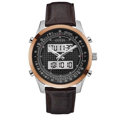 e45984eca Relógio Masculino Guess Analógico digital 92620G0GTNC2 Aço misto