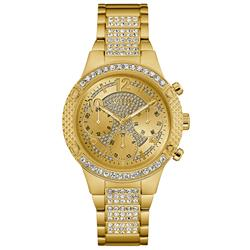 ffc53690c91 Relógio Feminino Guess Analógico 92626LPGSDA2 Dourado com cristais