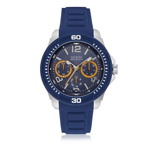 82814d56cf1 Relógio Masculino Guess Analógico 92642G0GSNU2 Borracha Azul