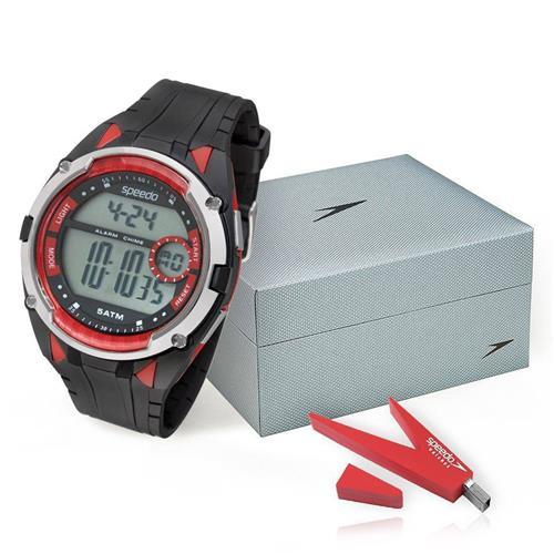 Relógio Masculino Speedo 81148G0EVNP1 Acompanha Pen Drive