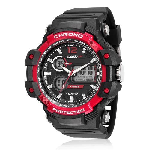 Relógio Masculino Speedo ANADIGI 81150G0EVNP1 Borracha