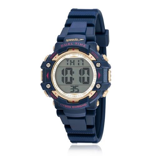 4cffc9ef933 Relógio Feminino Speedo Digital 80631L0EVNP2 Azul