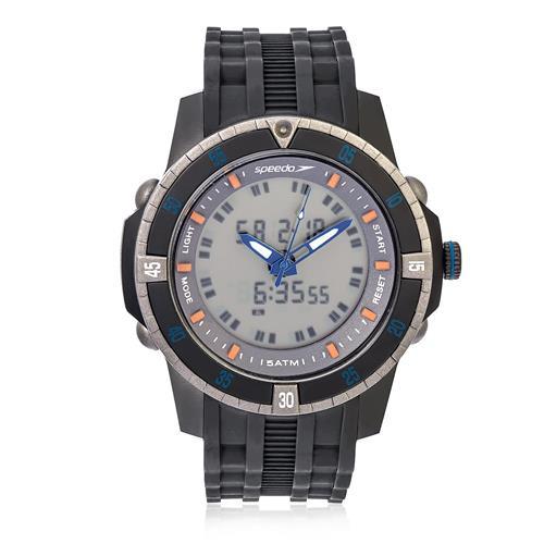 Relógio Masculino Speedo ANADIGI 81127G0EVNP3 Borracha