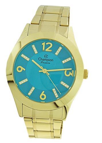 Relógio Feminino Champion Passion Analógico CN28713F Dourado