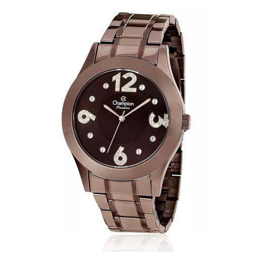 Relógio Feminino Champion Passion Analógico CN29178R Marrom