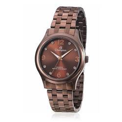 Relógio Feminino Champion Analógico CN28991R Marrom