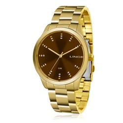 Relógio Feminino Lince Analógico LRG4445L M1KX Dourado