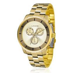 Relógio Feminino Lince Analógico LMG4478L C1KX Dourado
