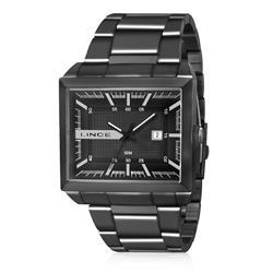 Relógio Masculino Lince Analógico MQN4267S P1PX Aço Negro
