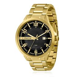 Relógio Masculino Lince Analógico MRG4271S P2KX Dourado