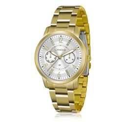 Relógio Feminino Lince Analógico LMGJ070L S2KX Dourado