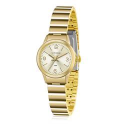 Relógio Feminino Lince Analógico LRG4434L C2KX Dourado