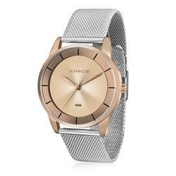 Relógio Feminino Lince Analógico LRT4515L R1SX Aço Misto