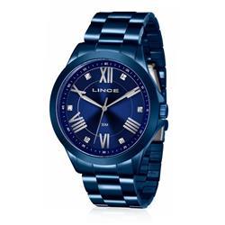 Relógio Feminino Lince Analógico LRAJ046L D3DX Azul