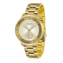 Relógio Feminino Lince Analógico LRGH067L C1KX Dourado