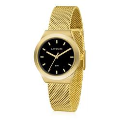 Relógio Feminino Lince Analógico LRG4493L P1KX Fundo Preto