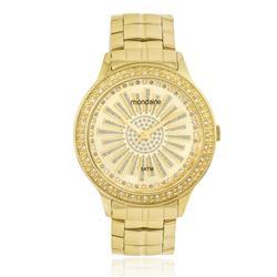 Relógio Feminino Mondaine Analógico 94724LPMVDA1 Dourado