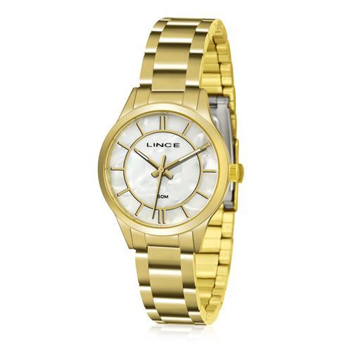 Relógio Feminino Lince Analógico LRGH072L KU34 Kit Colar e Par de Brincos