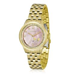 Relógio Feminino Lince Analógico LRG4511L KU64 Kit Bracelete