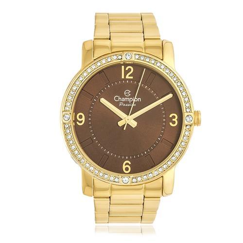 Relógio Feminino Champion Passion Analógico CN29301N Dourado