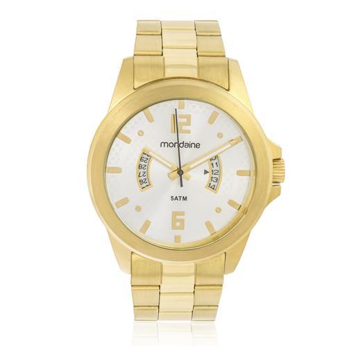 Relógio Masculino Mondaine Analógico 78675GPMVDA2 Dourado