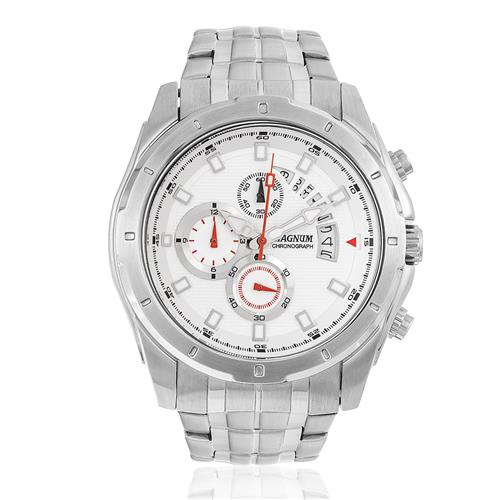 Relógio Masculino Magnum Analógico MA32005N Aço
