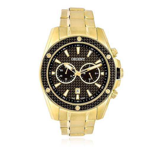 Relógio Masculino Orient Analógico MGSSM023 P1KX Dourado
