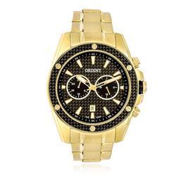 2ef2933dbe6 Relógio Masculino Orient Analógico MGSSM023 P1KX Dourado