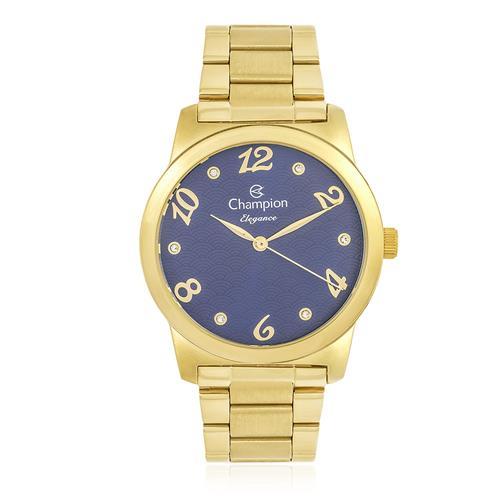 Relógio Feminino Champion Elegance Analógico CN26108A Dourado
