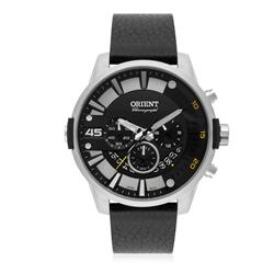 Relógio Masculino Orient Chronograph Analógico MBSCC052 P2PX Couro
