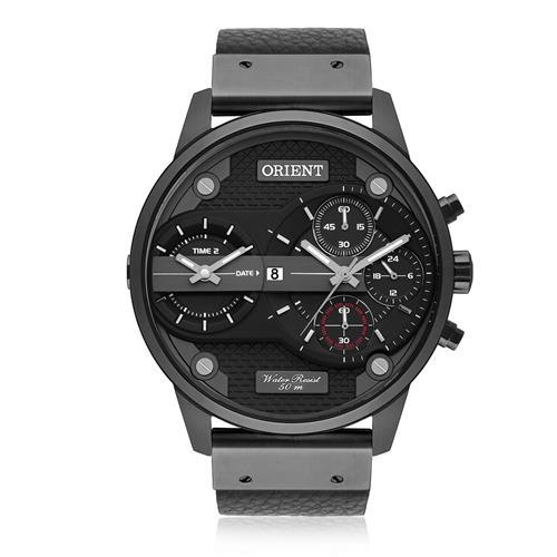 Relógio Masculino Orient Analógico MPSCT001 P1PX Couro