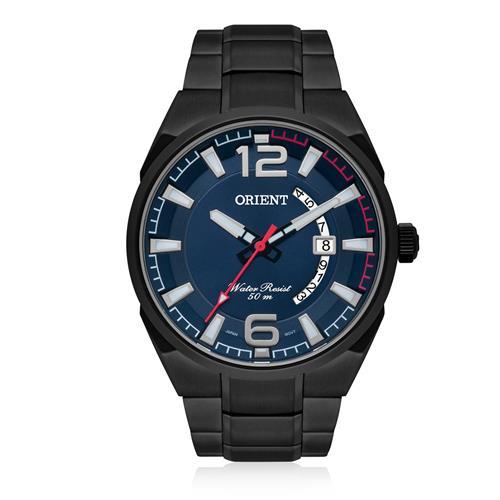 Relógio Masculino Orient Analógico MPSS1007 D2GX Aço Negro