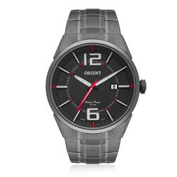 Relógio Masculino Orient Analógico MPSS1004 G2GX Aço Negro