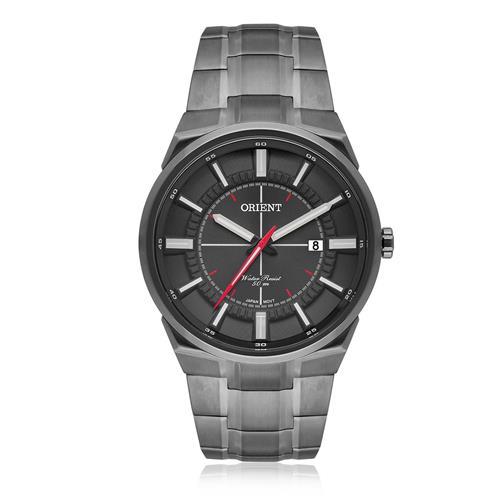 Relógio Masculino Orient Analógico MPSS1005 G1GX Aço Negro