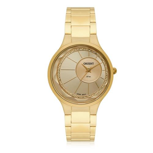 Relógio Feminino Orient Analógico FGSS0116 C1KX Dourado