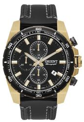 Relógio Masculino Orient Analógico Chronograph MGSCC003 P1PX Couro